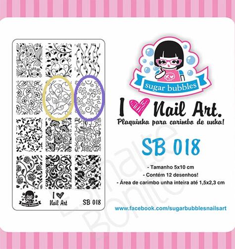 Placa 018 Sugar Bubbles