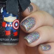 Esmalte da Kelly Captain America