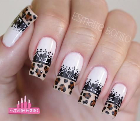 Unhas Carimbadas + Nail Art