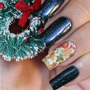 Penélope Luz Oasis + Adesivo de Unha para o Natal