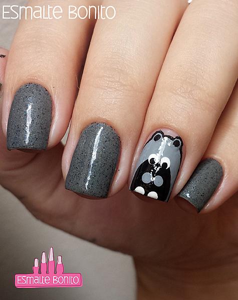 Nail Art de Hipopótamo