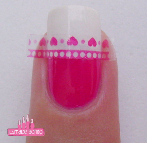 Passo 4 Cutting Sticker Manicure