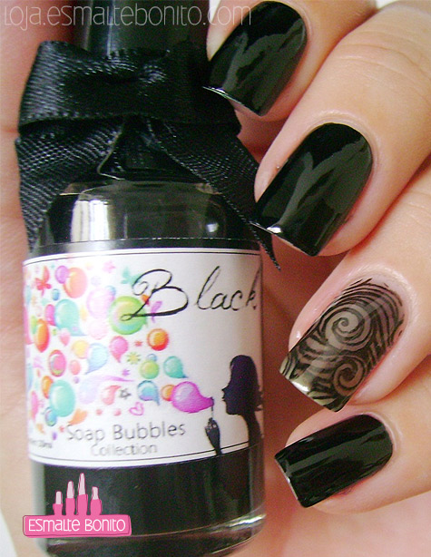 Soap Bubble Black Kelly