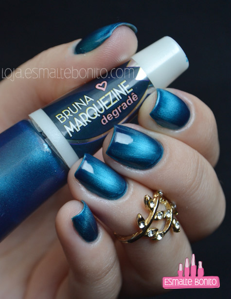 Esmalte Blue-Black Bruna Marquezine