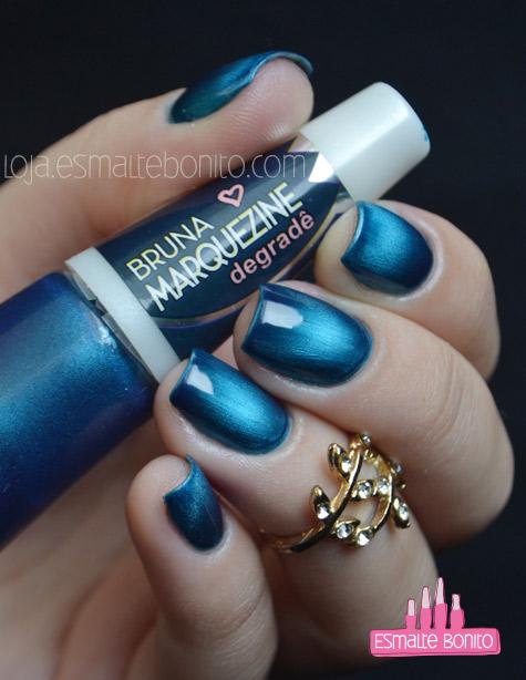 Esmalte Blue-Black Bruna Marquezine