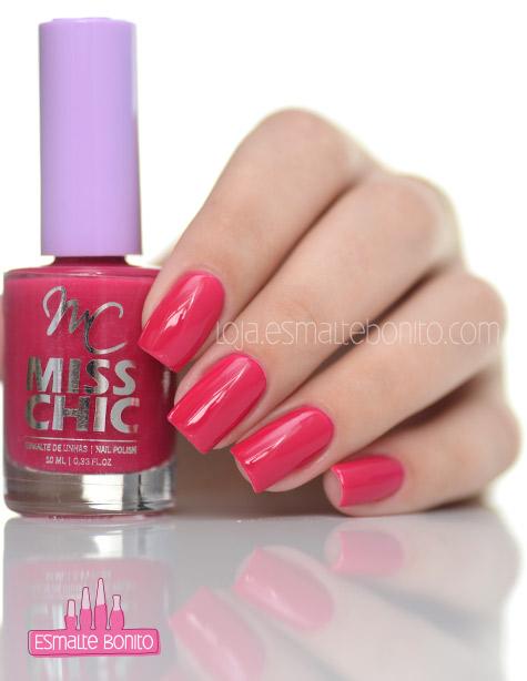 Esmalte Pink Miss Chic