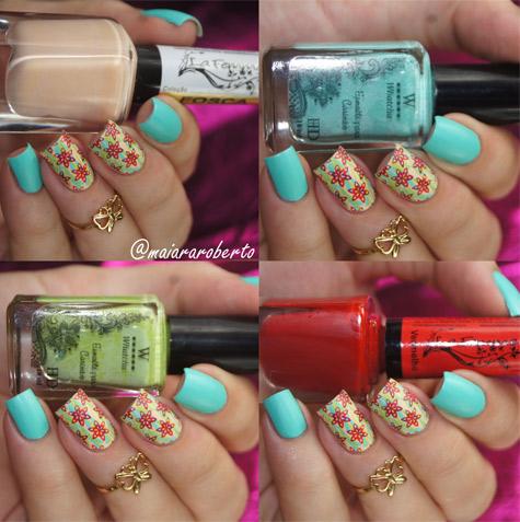 Esmaltes Usados na Nail Art