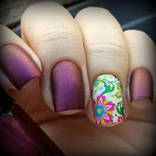 Esmalte Granata Hits + Película Floral