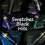 Swatches Coleção Black Hits