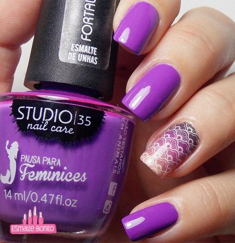 Esmalte #Mermaid Pausa para Feminices Studio 35