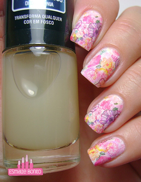 Top Coat Fosco Nati