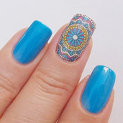 Esmalte Risadite Top Beauty + Adesivo de Unha Mandala