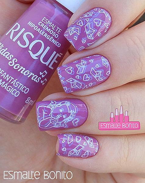 Super Fantástico Rosa Mágico Risqué + SB 045 Sugar Bubbles