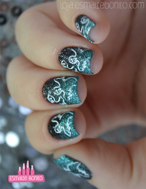 Unhas Decoradas para o Halloween