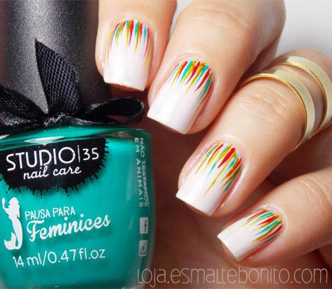 Esmalte #Ariel Pausa para Feminices Studio 35