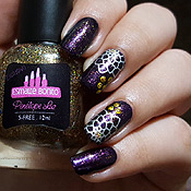 Purple Potion Penélope Luz + Carimbada com placa Kelly Negri
