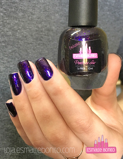 Esmalte Purple Potion Exclusivo Penélope Luz