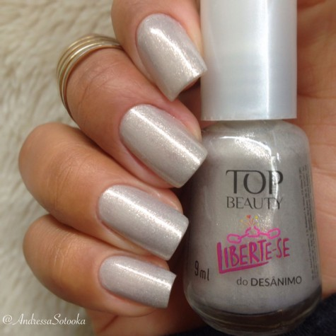 Esmalte Liberte-se do Desânimo Top Beauty