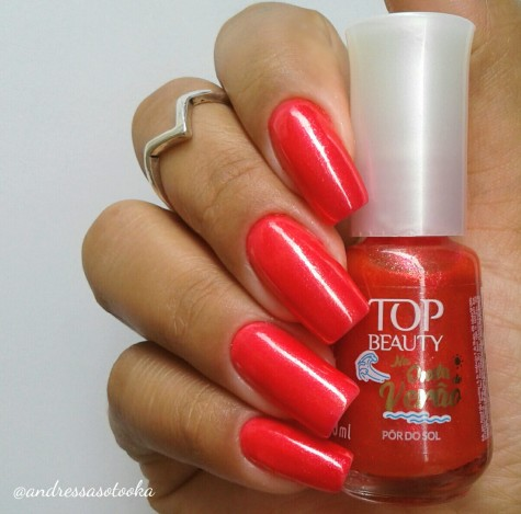 Esmalte Pôr do Sol Top Beauty