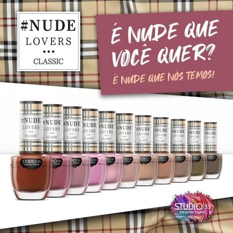 Nude Lovers Classic Coleção Esmaltes Studio 35