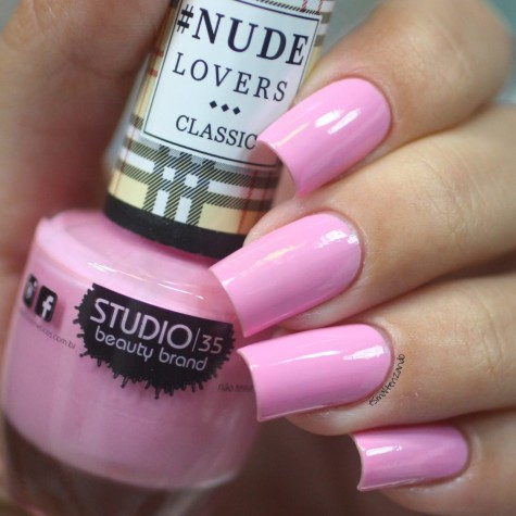 #NudeBailarina Esmalte Studio 35