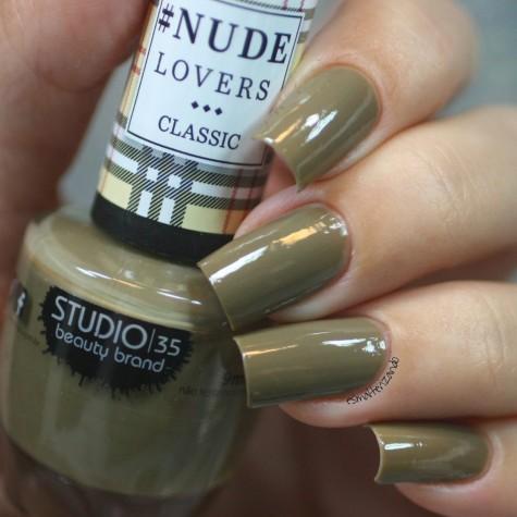 #NudeMilitar Esmalte Studio 35