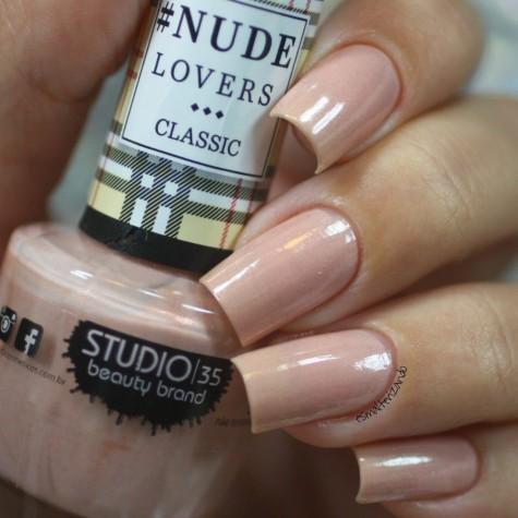 #NudeNoiva Esmalte Studio 35